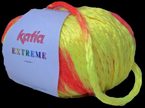 Katia Extreme fluogeel - feloranje 60