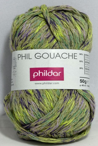 Phil Gouache, vegetal 0104