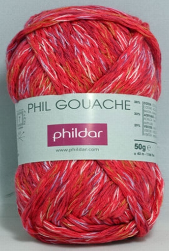 Phil Gouache, grenadine 0105