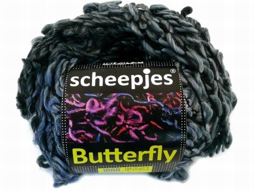 Butterfly grijs 01
