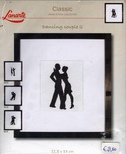 Dancing couple 2, telpakket