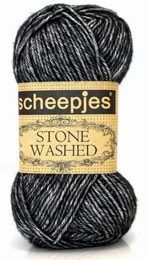 Stone Washed, Black Onyx 803