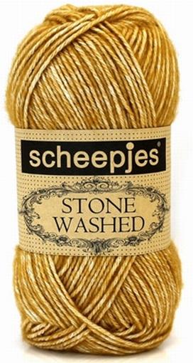 Stone Washed, Yellow Jasper 809