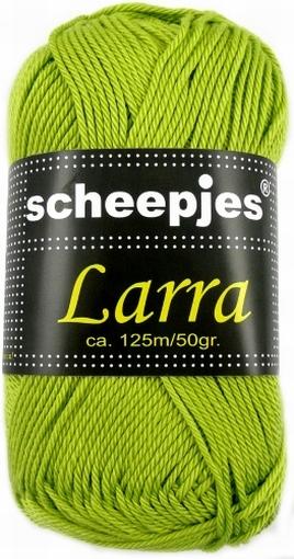 Haakkatoen Larra grasgroen 7402