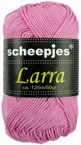 Haakkatoen Larra roze 7403