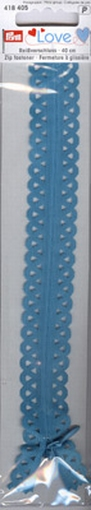 Prym Love rits S11 turquoise, 40 cm.
