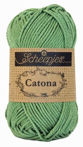 Haakkatoen Catona sage green 212