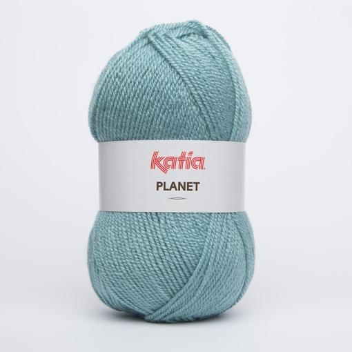 Acrylgaren Planet, zeegroen 4000