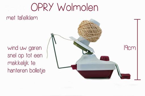 Wolmolen / wolwinder Opry