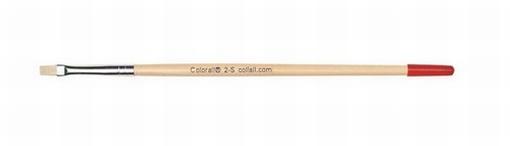 Colorall penseel plat school 2-S kort 175mm