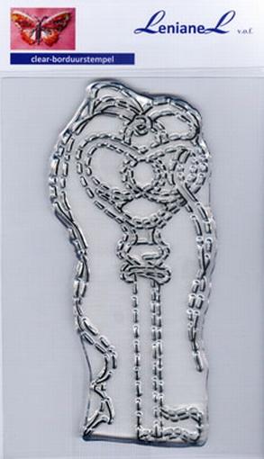 Borduurstempel Antieke sleutel