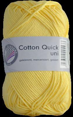 Haakkatoen Cotton Quick zonnegeel 03