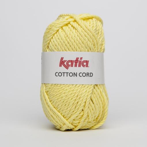 Haakkatoen Cotton Cord geel 54