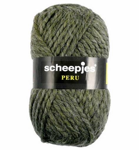 Scheepjeswol Peru, grijs-groen 50