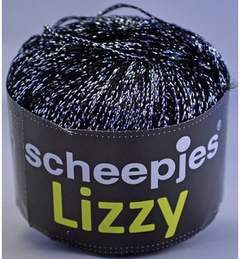 Scheepjeswol, Lizzy zwart-zilver 11