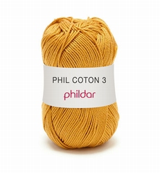Haakkatoen Phil Coton 3 gold 0073