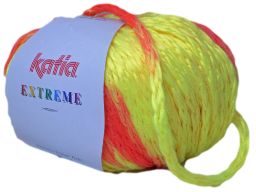 Katia Extreme fluogeel - feloranje 60