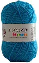 Sokkenwol Hot Socks neon, turquoise 82
