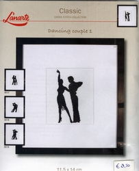Dancing couple 1, telpakket