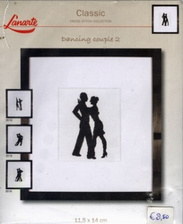 Dancing couple 2, telpakket