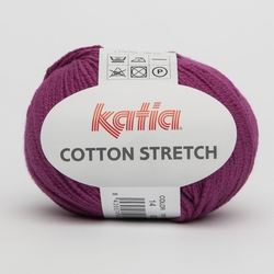 Cotton Stretch lila 14