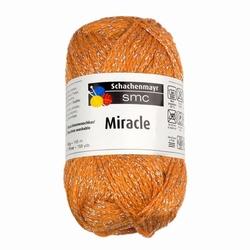 Katoengaren Miracle oranje 25, pakket van 10 bollen