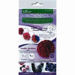 Flower Frill Templates Clover 8460