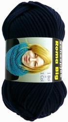 Acrylgaren Roma Big donkerblauw 11