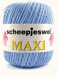 Haakkatoen MAXI lichtblauw 259