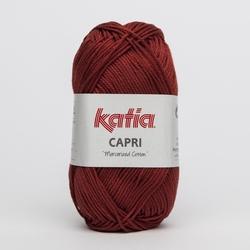 Haakkatoen Capri steenrood 096