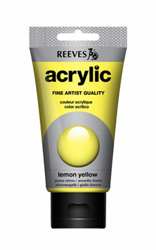 Reeves, 75 ml. - lemon yellow