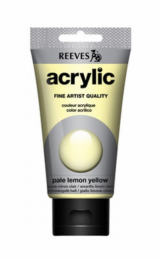 Reeves, 75 ml. - pale lemon yellow
