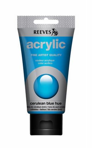 Reeves, 75 ml. - cerulean blue hue