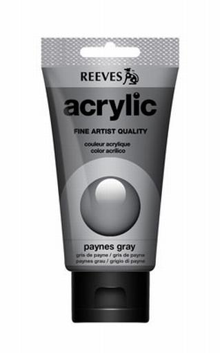 Reeves, 75 ml. - paynes grey