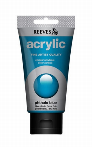 Reeves, 75 ml. - phthalo blue
