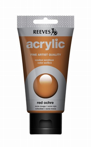 Reeves, 75 ml. - red ochre