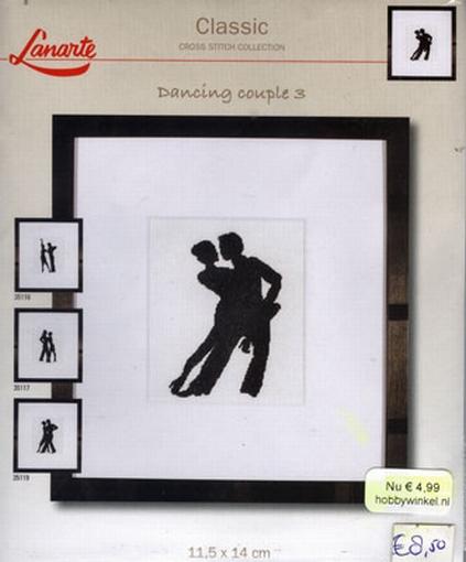 Dancing couple 3, telpakket