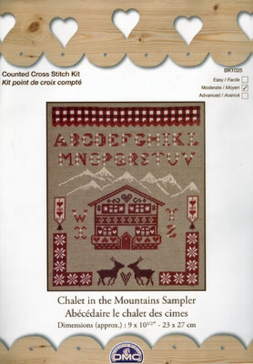 Chalet in the Mountaibns Sampler ABC