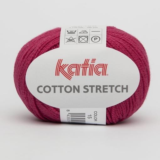 Cotton Stretch fuchsia 15