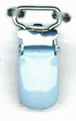 Bretelclip speenkoord babyblauw