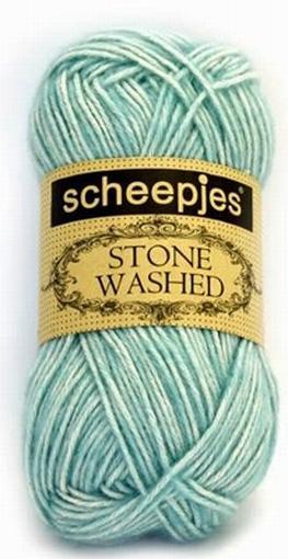 Stone Washed, Amazonite  813