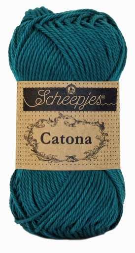 Catona dark teal 401, 25 gram, 62,5 meter