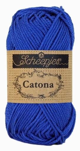 Catona electric blue 201, 25 gram, 62,5 meter