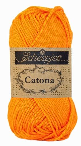 Haakkatoen Catona tangerine 281