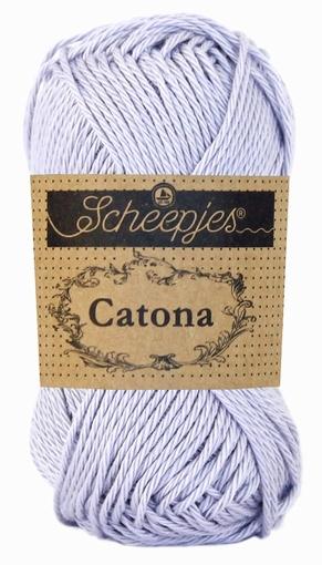 Haakkatoen Catona lilac mist 399