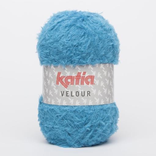 Velour turquoise 55