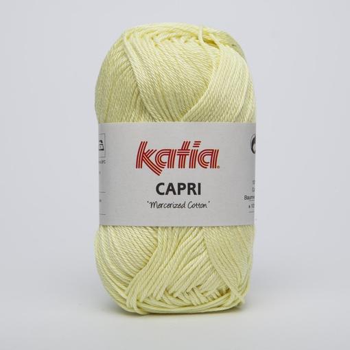 Haakkatoen Capri helder limoengeel 165