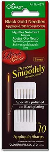 Black Gold Applique naalden Clover nr. 10