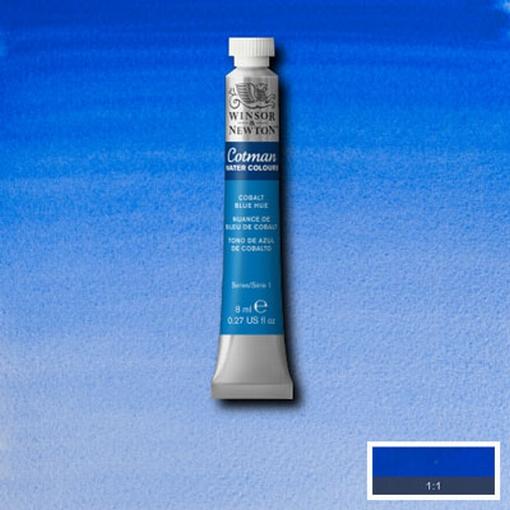 Cotman Water Colour Cobalt Blue Hue, tube 8 ml.