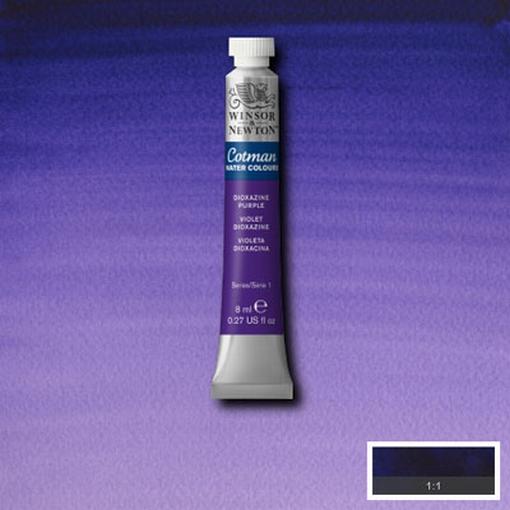 Cotman Water Colour Dioxazine Violet, tube 8 ml.